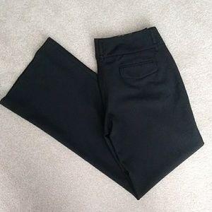 Express Editor Sz 8 Black Pants